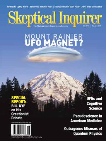 Skeptical Inquirer issue May/June 2014