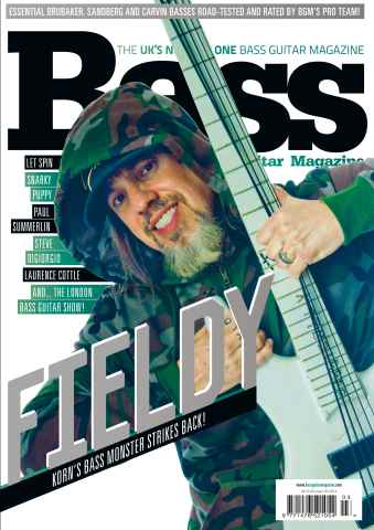 Bass Guitar issue 103 April 2014