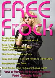 Frock Magazine issue Frock Magazine Free Sample Issue