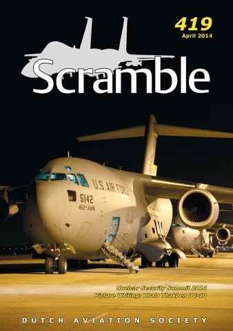 Scramble Magazine issue 419 - April 2014