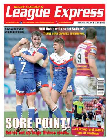 League Express issue 2909