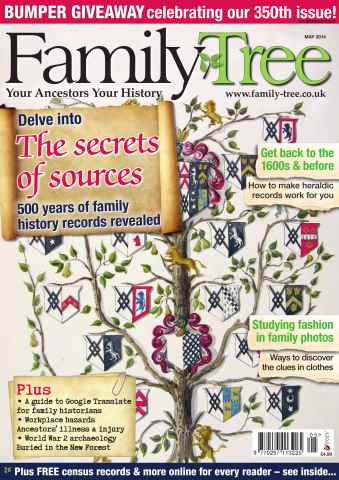 Family Tree issue Family Tree May 2014