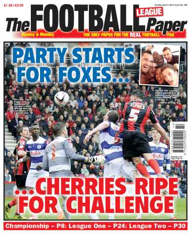 The Football League Paper issue 6th April 2014