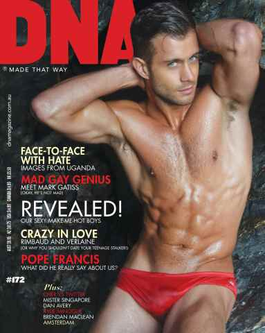 DNA Magazine issue #172 - Make Me Hot