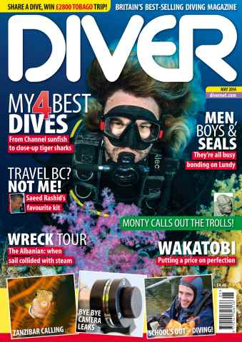DIVER issue MAY 2014