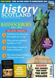 History Scotland issue BANNOCKBURN SPECIAL 1314 - 2014