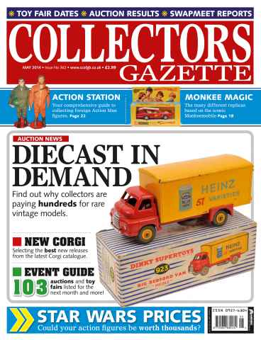 Collectors Gazette issue May 2014 Issue