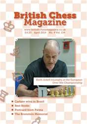 British Chess Magazine issue April 2014