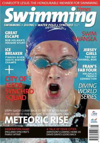 Swimming Times issue May 14