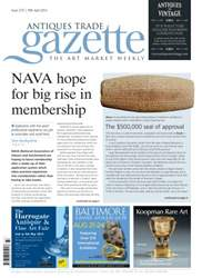 Antiques Trade Gazette issue ATG Issue 2137