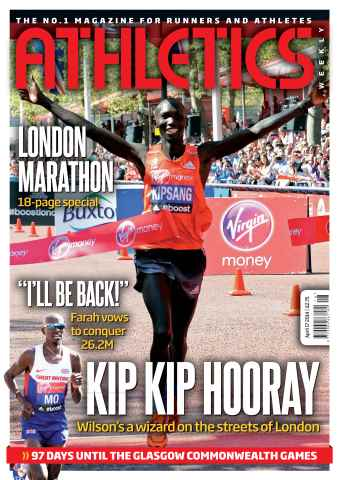 Athletics Weekly issue 17/04/2014