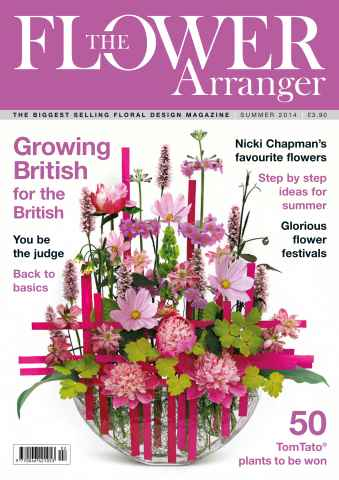 The Flower Arranger issue Summer-14