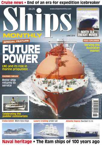 Ships Monthly issue No.594 FUTURE POWER