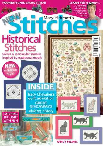 New Stitches issue Issue 253