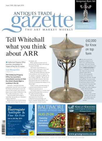 Antiques Trade Gazette issue ATG Issue 2138