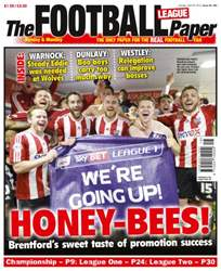 The Football League Paper issue 20th April 2014