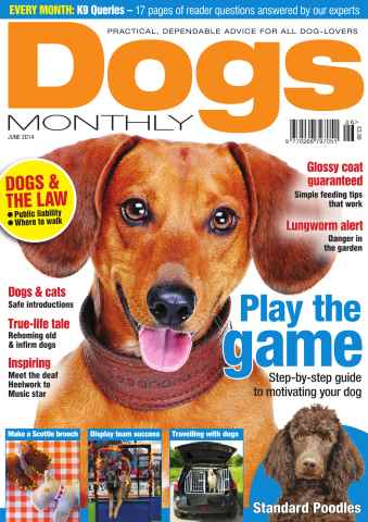 Dogs Monthly issue Dogs Monthly June 2014