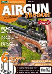 Airgun Shooter issue June 2014