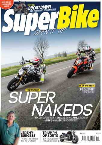 Superbike Magazine issue May 2014
