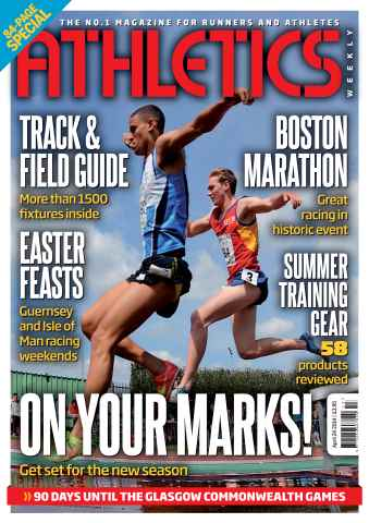 Athletics Weekly issue 24/04/2014