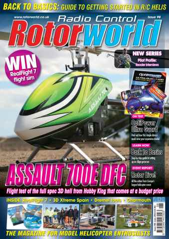Radio Control Rotor World issue Jun-14