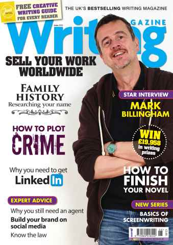 Writing Magazine issue June 2014