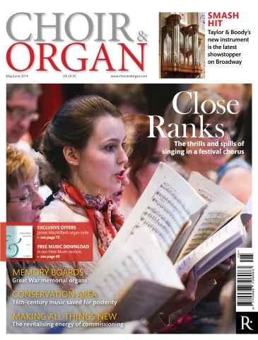 Choir & Organ issue May - June 2014