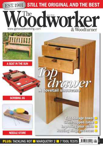 The Woodworker Magazine issue June 2014