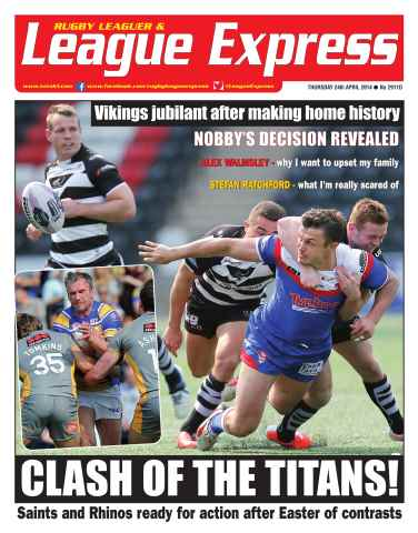 League Express issue 2911D