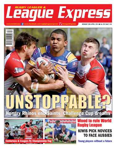 League Express issue 2912