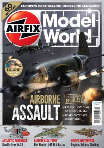 Airfix Model World issue June 2014