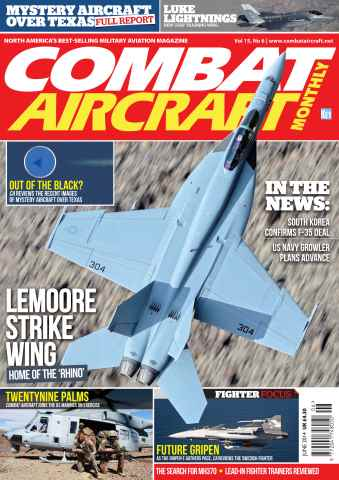 Combat Aircraft issue June 2014