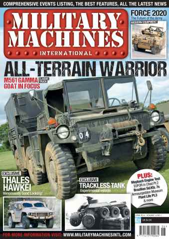 Military Machines International issue June 2014