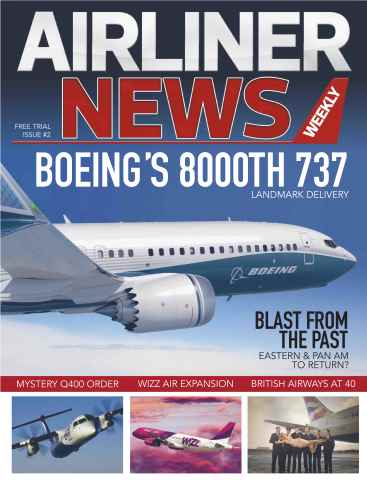 Airliner News issue No.2 Free Trial Issue