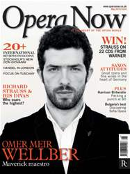 Opera Now issue May 2014