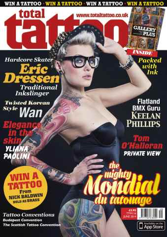 Total Tattoo issue June 2014