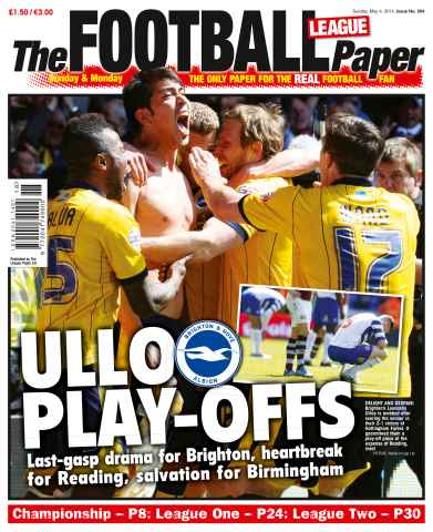 The Football League Paper issue 4th May 2014
