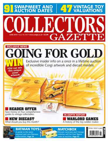 Collectors Gazette issue June 2014