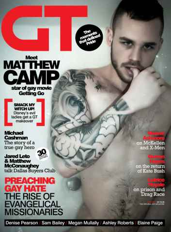 Gay Times issue June 14