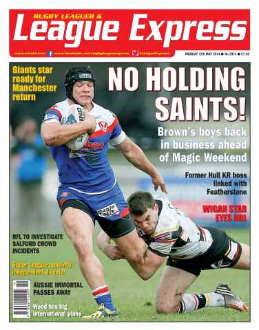 League Express issue 2914