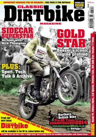 Classic Dirt Bike issue Issue #31