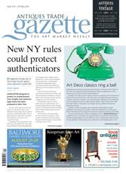 Antiques Trade Gazette issue ATG Issue 2141