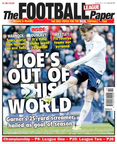 The Football League Paper issue 11th May 2014