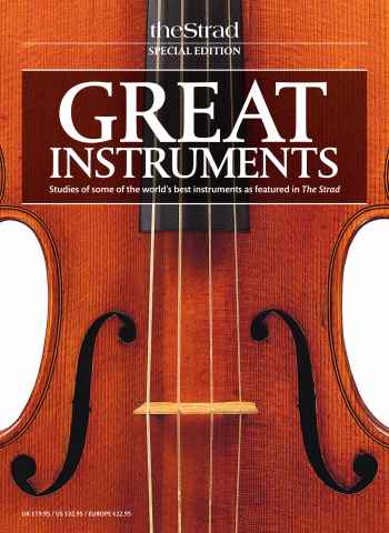 The Strad issue Great Instruments