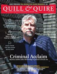 Quill & Quire issue JUNE 2014