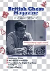British Chess Magazine issue BCM May 2014