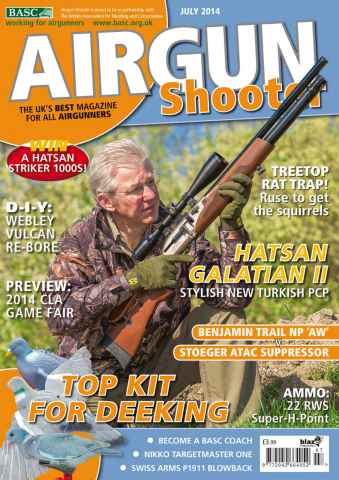 Airgun Shooter issue July 2014