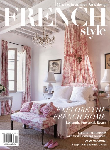 Romantic homes magazine french style 2014 subscriptions for Home style subscription