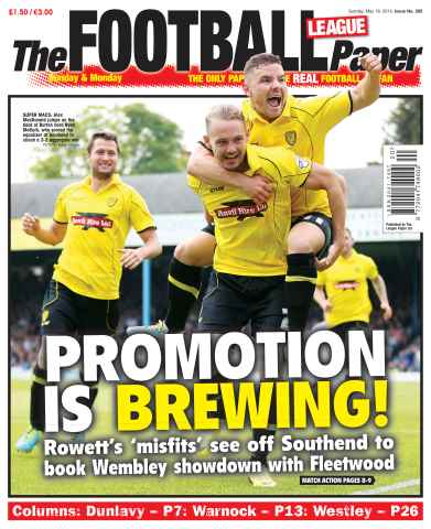 The Football League Paper issue 18th May 2014