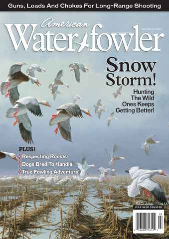 American Waterfowler issue Volume II Issue I